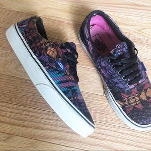 Vans sneakers • Southwest / Tribal Print • sz 9